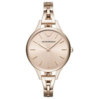 Emporio Armani Women's Bracelet Strap Watch Rose Gold