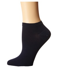 Wolford Sneaker Cotton Socks Dark Navy Women's Crew Cut Socks Shoes