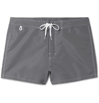 Sundek Rainbow Mid Length Swim Shorts Gray