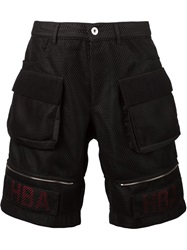 Hood By Air Mesh Cargo Shorts Black