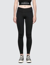 Calvin Klein Performance Full Length Legging With Logo Side Panel