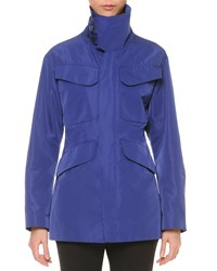 Jil Sander Funnel Neck Hunting Jacket Women's