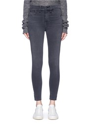 Rag And Bone '10 Inch Capri' Denim Pants Grey