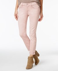 Jessica Simpson Juniors' Forever Rolled Super Skinny Jeans Burnished Lilac