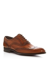 To Boot New York Mac Brogue Wingtip Oxfords Cognac Brown
