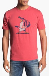 Red Jacket Men's 'St. Louis Cardinals' Regular Fit Crewneck T Shirt