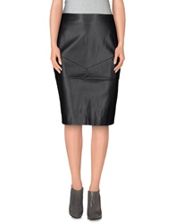 Finders Keepers Knee Length Skirts Black