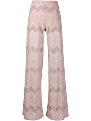M Missoni Wide Leg Embroidered Trousers 60