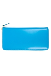 Comme Des Garcons Long Zip Around Wallet Blue Sa0110