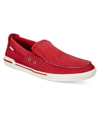 Kenneth Cole Reaction Fasten Your Anchor Slip On Men's Shoes Red