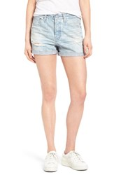 Ag Jeans Women's 'Alex' High Rise Cuffed Denim Shorts 22 Years Fearless