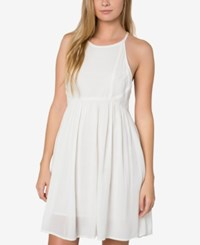 O'neill Juniors' Marla Fit And Flare Dress White