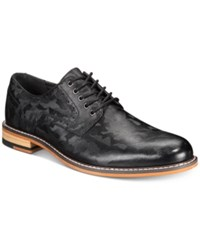 Bar Iii Camm Derby Shoes Created For Macy's Shoes Black Camo