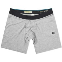 Stance Staple 6 Inch Boxer Brief Grey