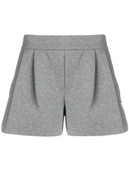 Mr And Mrs Italy Track Shorts Grey