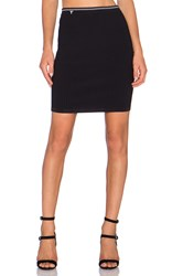 Alexander Wang Fitted Pencil Skirt Black
