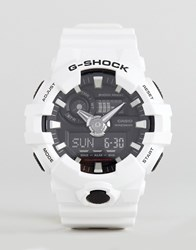 G Shock Ga 700 7Aer Digital Silicone Watch In White White