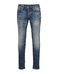Jack And Jones Glenn Original Slim Fit Jeans Blue
