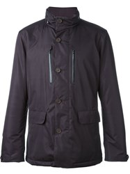 Z Zegna Sporty Jacket Pink And Purple