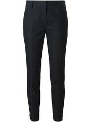 Burberry Brit Slim Cropped Trousers Blue