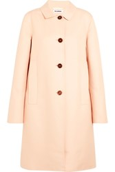 Jil Sander Cotton Twill Coat Pastel Pink