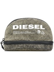 Diesel New D Easy Purse Green
