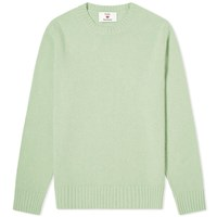 Harmony Sporty And Rich X Brushed Wool Crew Knit Green
