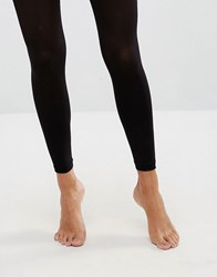 Asos 50 Denier Footless Tights Black