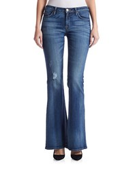 Hudson Jeans Mia Midrise Flared Fierce