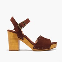 Madewell The Jo Sandal Rich Brown