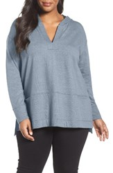 Caslonr Plus Size Women's Caslon Hooded Pullover Tunic