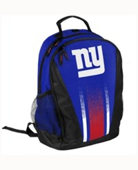 Forever Collectibles New York Giants Prime Time Backpack Blue
