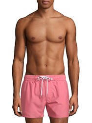 2Xist Essentials Ibiza Varsity Board Shorts Coral
