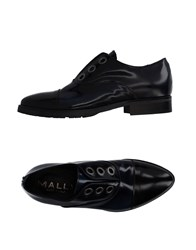 Mally Lace Up Shoes Dark Blue