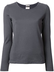 Massimo Alba 'Lime' Top Grey