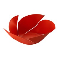 Alessi Twist Again Fruit Bowl Red