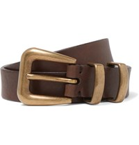 Brunello Cucinelli 2.5Cm Brown Leather Belt Brown