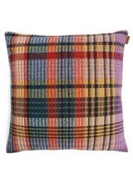 Missoni Home Whitaker Checked Wool Blend Cushion Multi