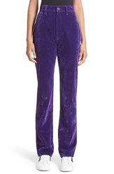 Marc Jacobs Women's Flocked High Waist Disco Jeans