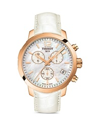 Tissot Quickster Women's Quartz Watch With Mother Of Pearl Dial 42Mm