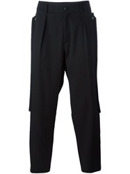 Damir Doma 'Picasso' Trousers Black