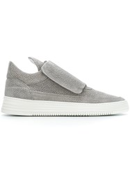 Filling Pieces Velcro Strap Sneakers Grey