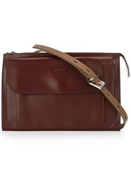 Ally Capellino 'Jackie' Crossbody Bag Brown