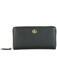 Gucci Zip Around Wallet Black