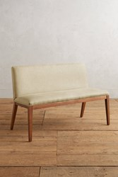 Anthropologie Linen Emrys Bench Sand
