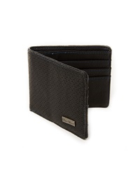 Icon Brand Wallet In Faux Leather