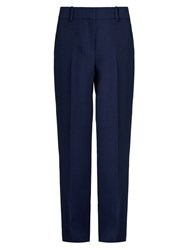 Sies Marjan Tatum Tailored Straight Leg Trousers Navy