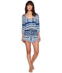 Rip Curl Dream On Romper Blue Women's Jumpsuit And Rompers One Piece