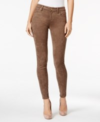 Kut From The Kloth Mia Faux Suede Skinny Pants Brown