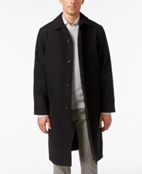 Kenneth Cole New York Men's Retz Water Repellent Raincoat Black